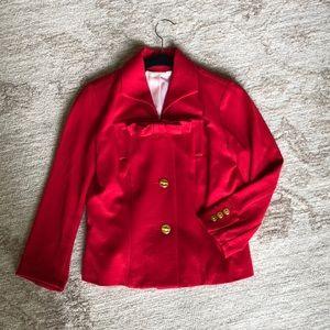 Cabi red Beau jacket size 0
